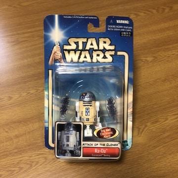 即決 スターウォーズ エピソード2 ベーシック フィギュア R2-D2