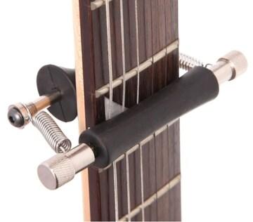 送料無料 新品 ローリング ギター カポ 即移調