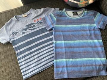 Tシャツ2点セット130センチ