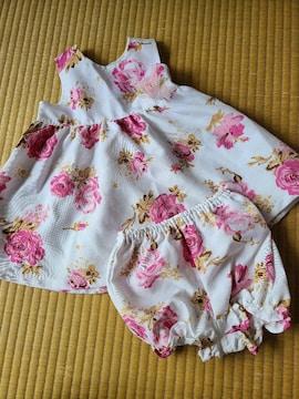 新品未使用★可愛いドレス★サイズ90