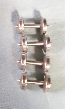 メーカー不明10,5�_ゲージピボット車輪4個
