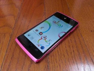 即落/即発!!美中古品 N-03E Disney Mobile ピンク