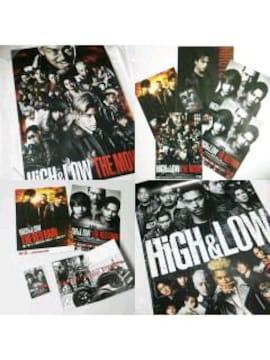 Blu-ray【豪華版】HiGH & LOW THE MOVIE特典ポスター等 BIGBANG V.I