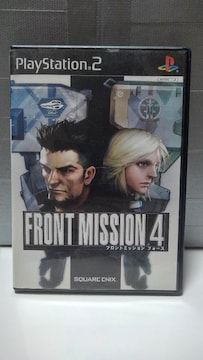 PS2 Front Mission 4 (フロントミッション4)