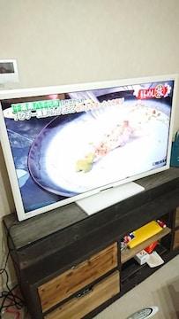三菱 液晶テレビ LCD-50CV6H 50型 2014年製 電動スイング