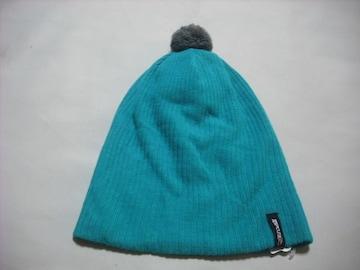 mb485 男 RIP CURL リップカール ボンボン付き ニット帽 緑