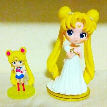 新品 Qposket セーラームーン フィギュア 人形 2体 セレニティ