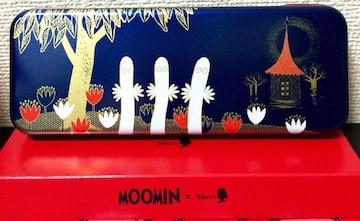 ムーミン『ニョロニョロ★缶ケース★紙袋付』新品(新品同様)