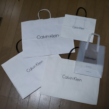 【Calvin Klein★ショップ袋】まとめ売り♪カルバンクライン♪
