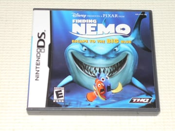 DS★FINDING NEMO ESCAPE TO THE BIG BLUE DISNEY 海外版