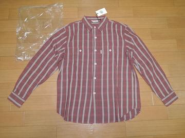 新品 COOTIE クーティー チェックシャツ S 赤 長袖