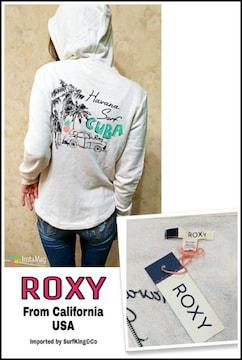 USA直輸入ROXY最新ZIPパーカー★日本未入荷本物USA-ROXY!特価SALE!