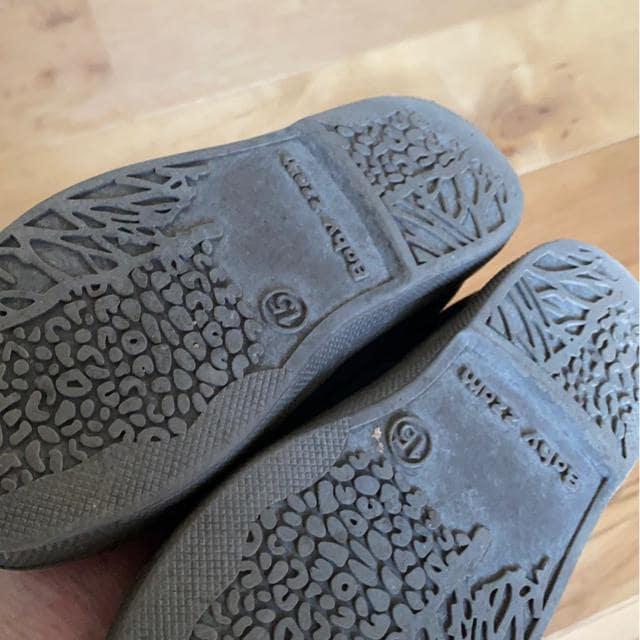 シンプル可愛い靴15�p < キッズ/ベビーの