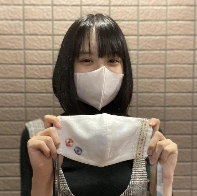 ハンドメイドマスクチャリティー 渡邊璃生さん