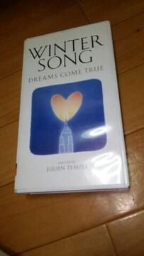 ★DREAMS COME TRUE WINTER SONG ドリカム VHS ビデオ★