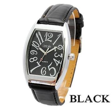 ★Men.sビッグフェイス★エレガンス腕時計AM07BK