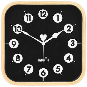 インテリア 掛け時計 アナログ 木製 コンパクト 23D9