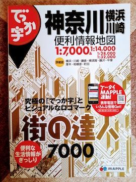 でっか字神奈川横浜・川崎便利情報地図