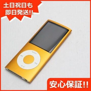 ●安心保証●美品●iPOD nano 第4世代 8GB オレンジ●