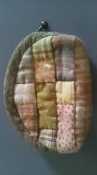 ハンドメイド 布製財布 完成品 未使用