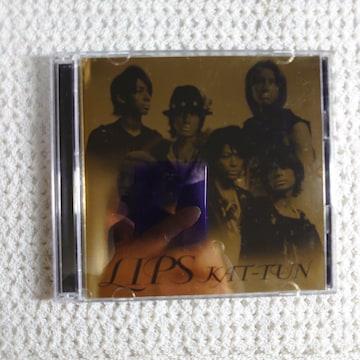 【送料無料 】KAT-TUN LIPS 初回限定盤 CD+DVD