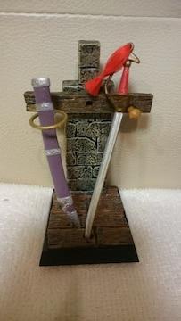 開封 中古 ドラクエ アイテムズギャラリー 伝説のアイテム編 ガイアの剣 2004