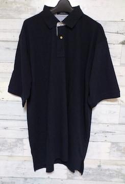 セール新品ビッグシルエット着回し抜群★ネイビーポロシャツL