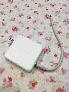 モバイルバッテリー白☆.。.:*iPhone充電器・PSEマーク有り