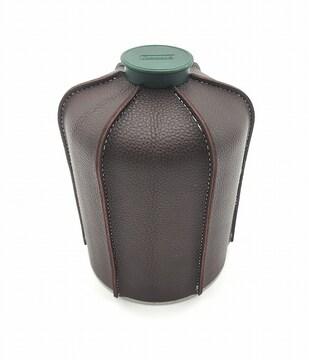 0252 450g用OD缶カバー レザーワインレッド ヘキサ