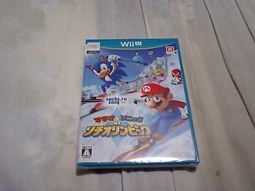【新品Wii U】マリオ&ソニック AT ソチオリンピック