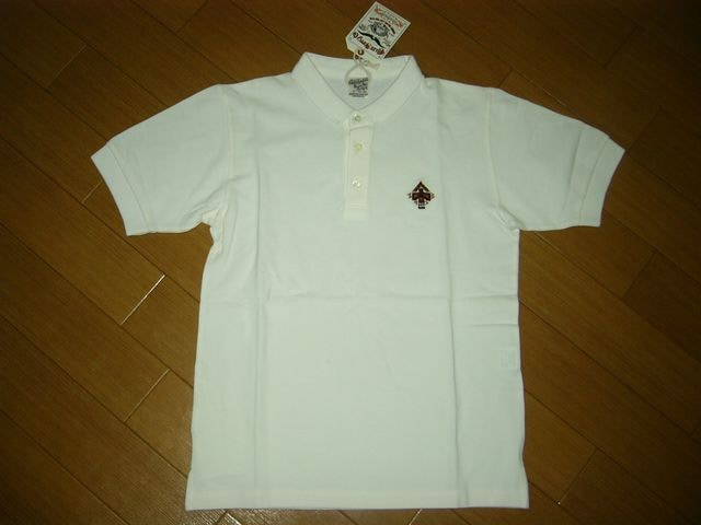 新品CALEEキャリー鹿の子ポロシャツS白  < ブランドの