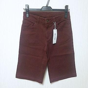 新品 ハーフ丈 ストレッチ パンツ ズボン W61