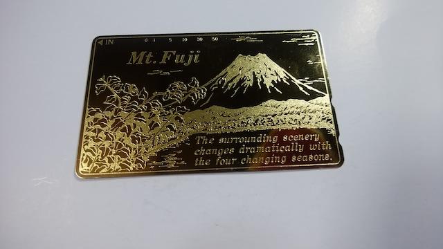 未使用品テレホンカード 富士山 50度数 < ホビーの