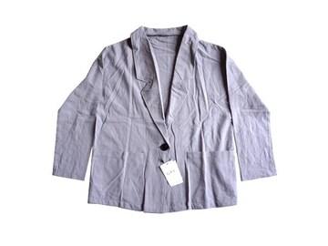 新品 GRL グレイル テーラード ジャケット 薄手 グレー