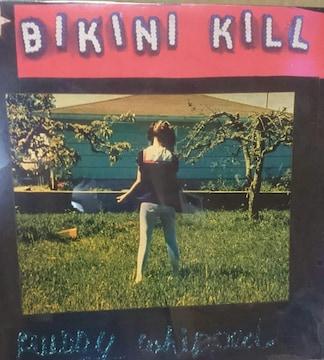 Bikini Kill????Pussy Whipped LPレコード 貴重 廃盤 パンク