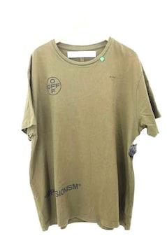 OFF-WHITE(オフホワイト)19SS IMPRESSIONISM STENCIL S/S TシャツクルーネックTシ