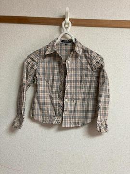 バーバリー チェック シャツ ネルシャツ 長袖