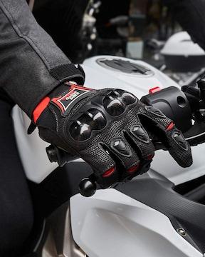 オフロード グローブ バイク手袋 ブラック