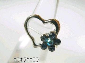 《New》オシャレのマストアイテム★ハート&(ブルー)フラワー*トゥーリング/ピンキーリング
