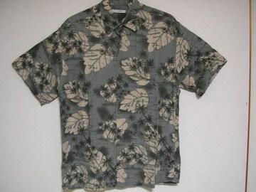 即決USA古着総柄デザイン半袖シャツ!ビンテージレア