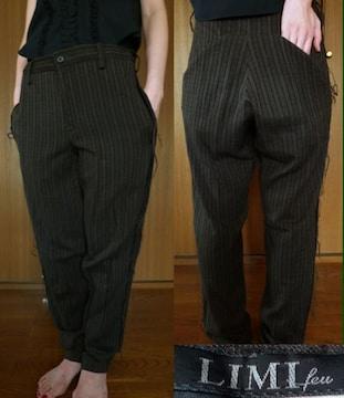 リミ フゥ LIMI feu サルエル パンツ ヨウジ 山本里美 レア 美品