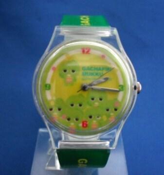 ガチャピンの腕時計3-ポンキッキリストウォッチ