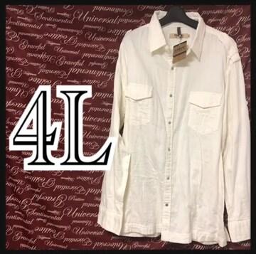 4L・KANSAI・綿シャツ新品/MC02P-005