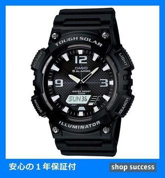 新品 即買///カシオ CASIO ソーラー 腕時計AQ-S810W-1A ブラック