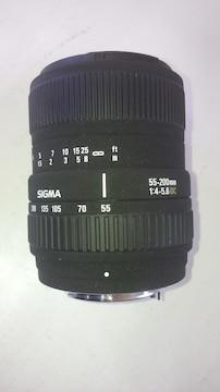 シグマ製 ペンタKマウント 55-200�o DC