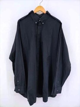 Maison Margiela(メゾンマルジェラ)10 19AW 比翼ボタンダウンシャツシャツ
