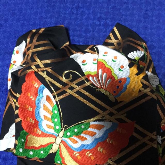 とっても素敵なふくら雀の付け帯振袖用美品。袋帯豪華。楽チン。 < 女性ファッションの