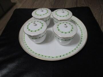 大皿と湯呑みセット
