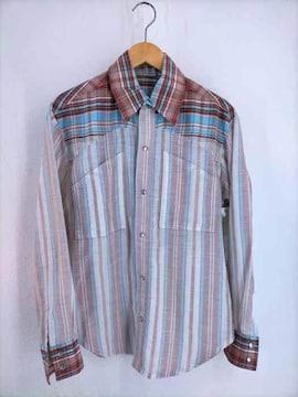 USED古着(ユーズドフルギ)70S チェックウエスタンシャツウエスタンシャツ