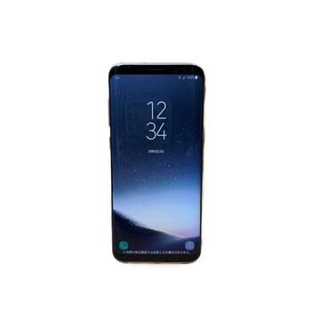 【美品】スマホ モックアップ/Galaxy S8+ SCV35 au/見本品